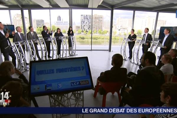 """""""Le Grand débat des Européennes"""" dans la région Ouest"""