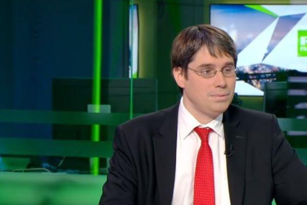 Benoit Quennedey, sur le plateau de RT en juin 2018