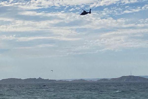 illustration- De nombreux moyens sont déployés depuis ce matin pour des baigneurs en difficulté en mer.