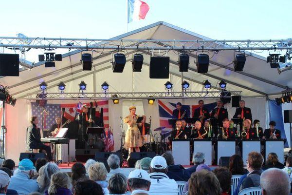 BBSM pendant un concert pendant le 60ème anniversaire du Débarquement