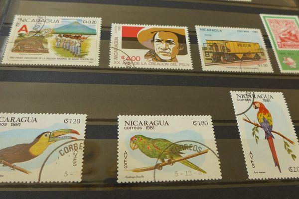 Exotisme et dépaysement avec ces timbres d'Amérique centrale.