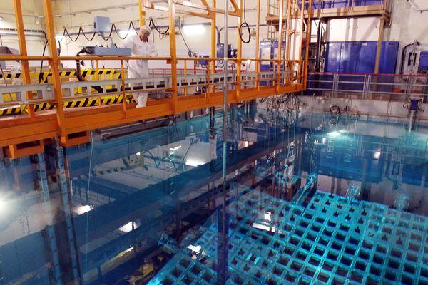 Une piscine de stockage des déchets nucléaires - Photo d'illustration