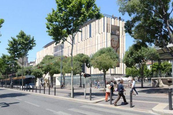 À Marseille, le haut de la Canebière s'apprête à accueillir un grand complexe cinématographique flambant neuf de 7 salles, à la programmation essentiellement art et essai