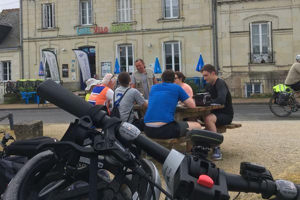 Les cyclotouristes dépensent en moyenne 80 euros par jour.