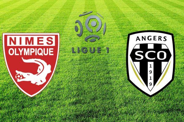 Samedi soir les angevins, 14ème au classement, se déplacent sur la pelouse du 18ème de Ligue 1, le Nîmes Olympique.