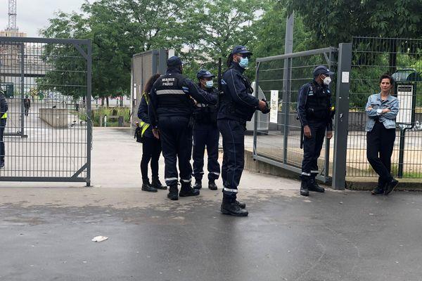 Les Jardins d'Eole dans le 18 e arr. de la capitale.
