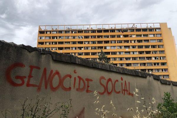 Parc Corot, une copropriété théâtre de violences dans le 13e arrondissement de Marseille.