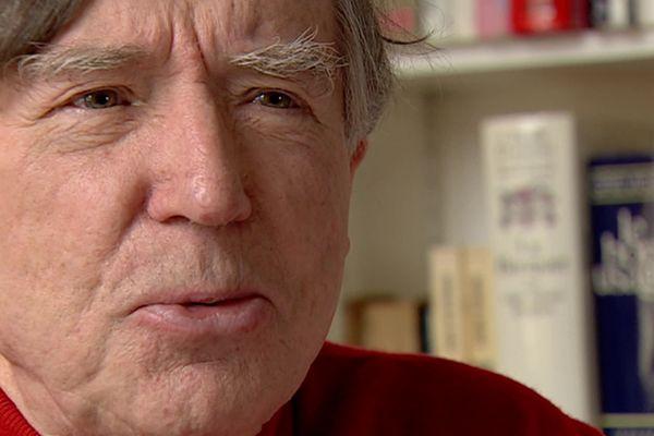 Le critique d'art, historien et écrivain Michel Ragon