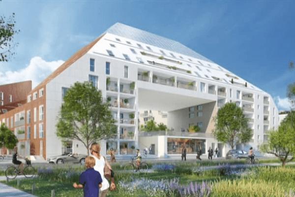 Le projet Riveo sort de terre sur la rive droite de Bordeaux