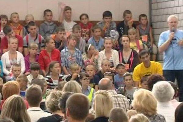 """Chaque été, près de 200 enfants sont accueillis par des familles membres de l'association """"Les enfants de Tchernobyl"""""""