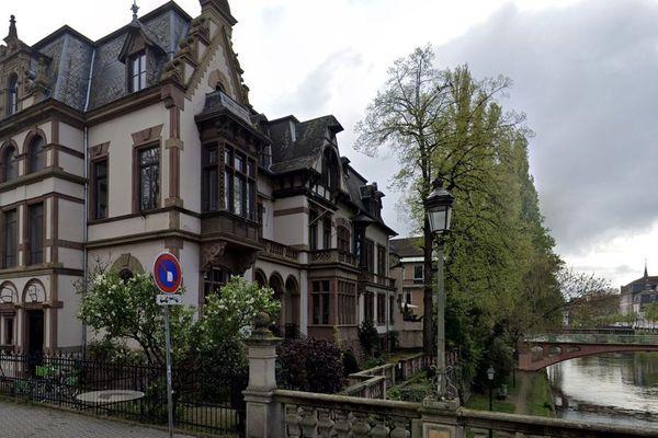 Les locaux de FIP Strasbourg, rue Joseph Massol à Strasbourg, partagés avec France Bleu Alsace.