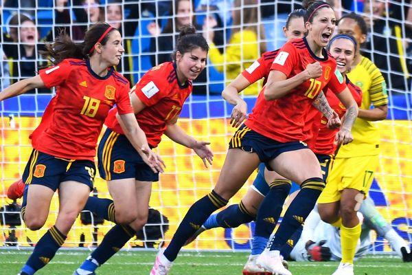L'Espagne victorieuse...