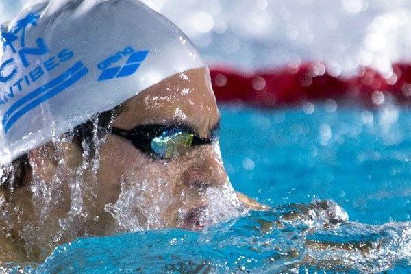 William Debourges, nouveau champion de France du 200 m brasse.