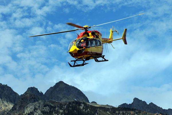 L'Hélicoptère Dragon 74 ( Illustration)