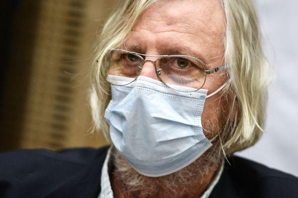 Le Pr Didier Raoult,  directeur de l'Institut Hospitalo-Universitaire Méditerranée infection à Marseille.