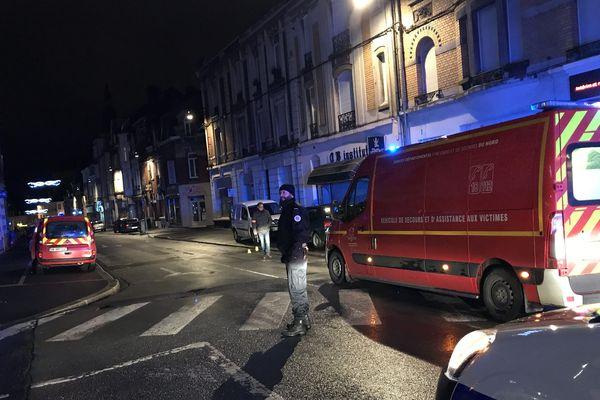 L'accident a eu lieu lundi soir, peu après 20h, rue Sadi-Carnot à Cambrai.