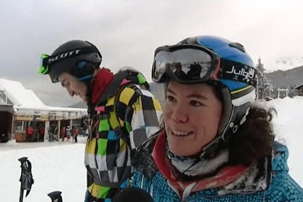 L'épisode neigeux, qui devrait durer jusqu'à la semaine prochaine, est particulièrement apprécié des skieurs.