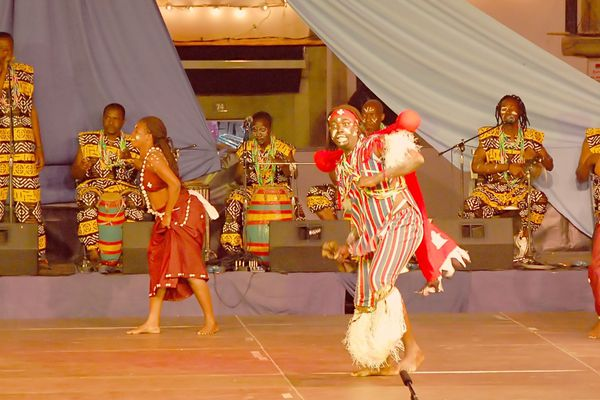 Danseurs du Togo