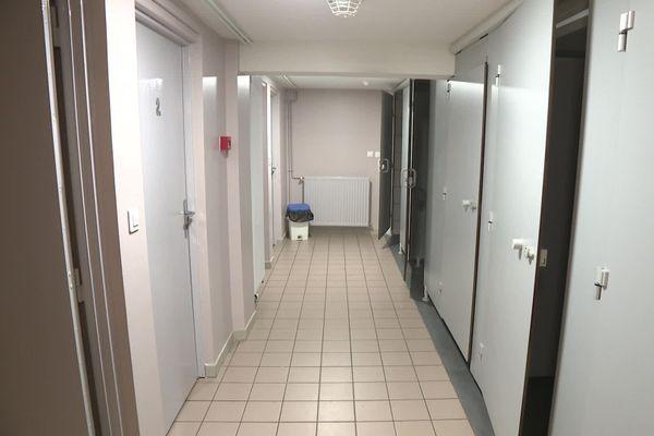 L'accueil de nuit de Guéret propose quatre chambres individuelles. Elles sont actuellement toutes occupées.
