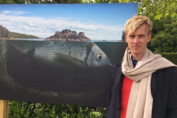 exposition des oeuvres d'Erik Johansson à l'écluse de Solesmes