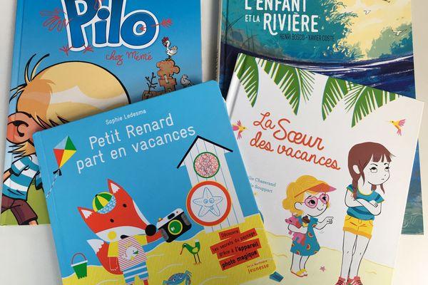 Des livres à glisser dans les bagages de vos enfants