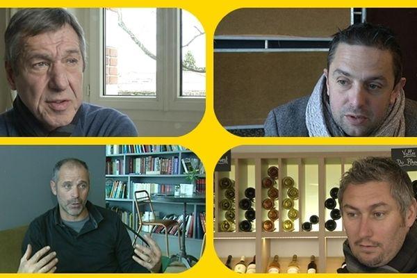 Jean-Paul Bertrand-Demanes, Frédéric Da Rocha, Vincent Bracigliano, Olivier Monterrubio.