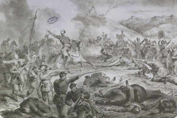 Bataille de Dijon 21, 22 et 23 janvier 1871