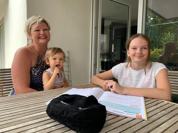 Marion Lasbroas espère que sa grande fille pourra avoir une AVS à la rentrée