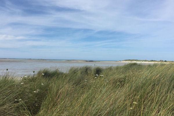 Les dunes de Keremma Tréflez Finistère nord