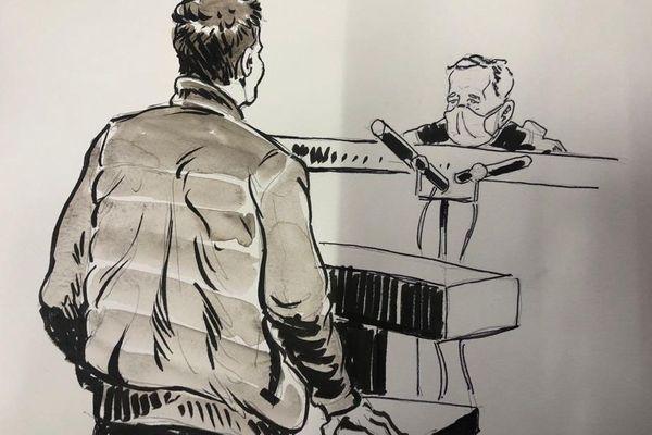 Un témoin, devant la cour d'assises