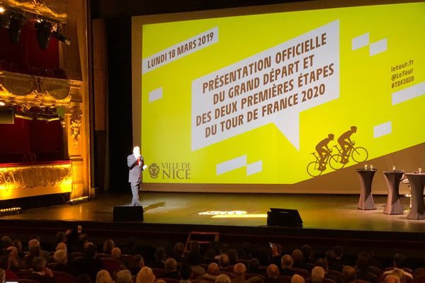 Conférence de presse de présentation du Tour de France ce lundi à Nice