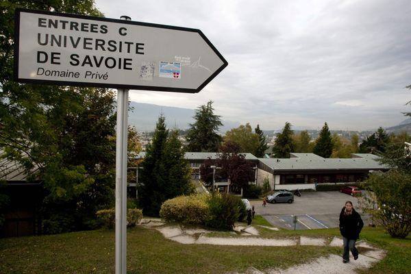 Le domaine universitaire de Jacob-Bellecombette, à l'université Savoie Mont-Blanc. (Archives)