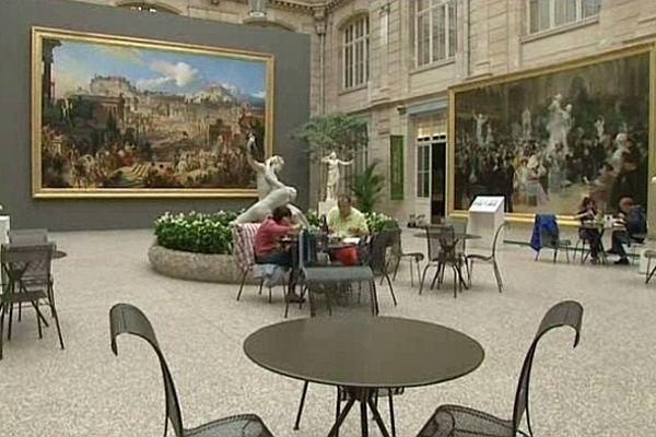 Archives : le hall du musée des Beaux-Arts de Rouen