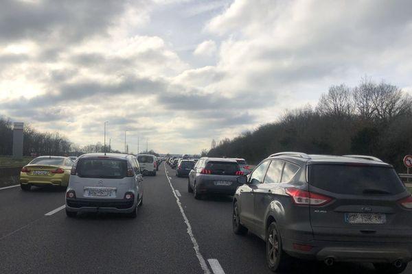 Soyez prudents, il y a beaucoup de monde sur les routes ce week-end !