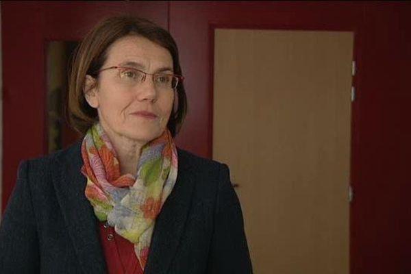 Laurence Dumont, députée PS de la 2eme circonscription du Calvados