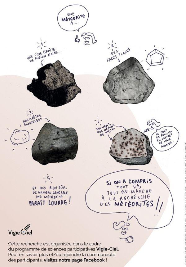 Comment reconnaître une météorite ?