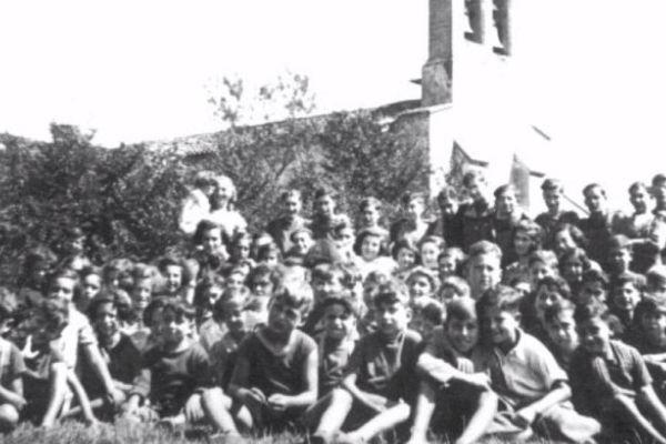 Seyre a hébergé pendant un an ces enfants juifs évacués de Belgique.