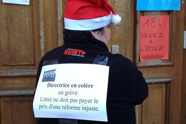 A l'école Littré comme à Empalot ou au Garros, les enseignants sont en grève ce mardi pour défendre l'éducation prioritaire.