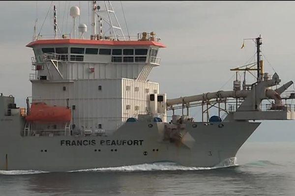 Le Francis Beaufort est à l'oeuvre en principauté de Monaco.