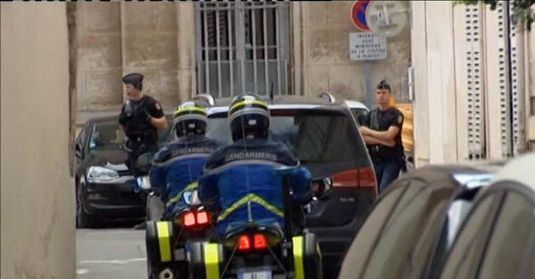 L'arrivée de Muriel Bolle à la cour d'appel de Dijon le 28/07/2017