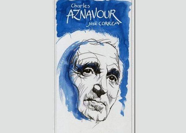 Le livre de José Correa sur Aznavour en 2011