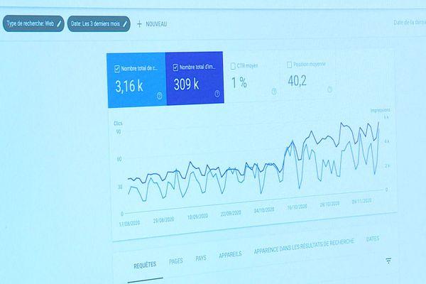 L'activité d'un commerçant sur Internet s'analyse avec précision pour trouver sa clientèle.