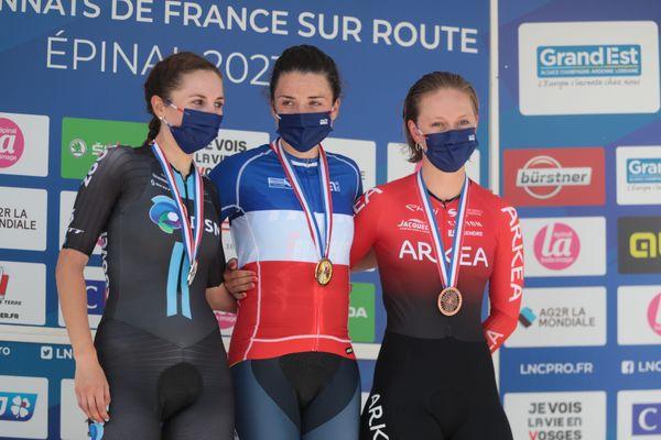 La Bisontine Juliette Labous, championne de France du contre-la-montre depuis juin 2021, participera au contre-la-montre et à la course en ligne des championnats du monde en Belgique du 19 au 26 septembre 2021