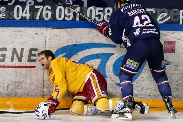 Les Ducs de Dijon ont été éliminés en demi-finale de la Coupe de France de hockey sur glace par Grenoble