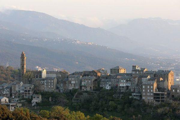 Le village de Venzolasca, en Haute-Corse.