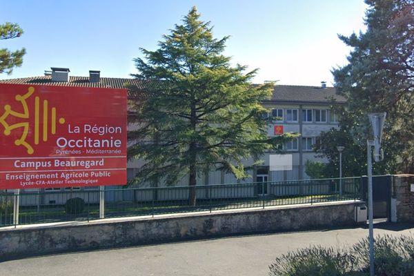 Lycée Beauregard fermé pour cause de covid