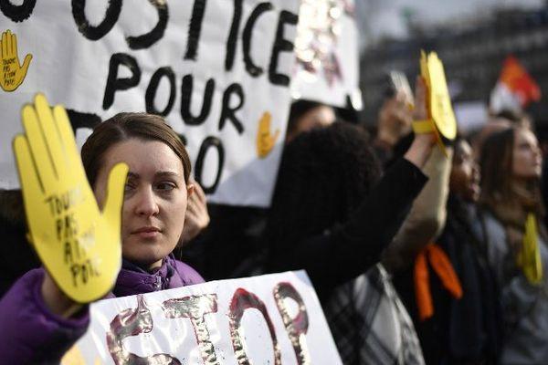 Manifestation de soutien à Théo (photo d'illustration)