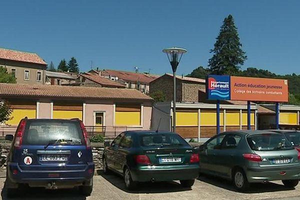 Saint-Gervais-sur-Mare (Hérault) - le collège des écrivains combattants - 2018.