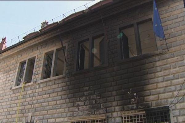 Incendie hôtel de ville de Besançon : les dégâts sont considérables