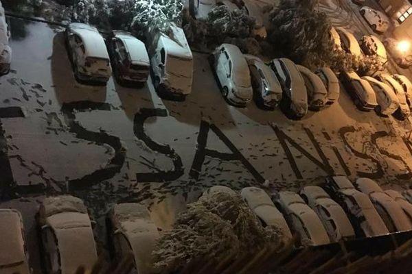 Le rappeur Kaotik 747 s'est exprimé dans la neige à Nice !
